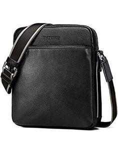PADIEOE Shoulder Briefcase Messenger *** Visit the image link more details. (This is an affiliate link) Best Handbags, Fashion Handbags, Man Purse, Briefcases, Satchel Purse, Small Bags, Messenger Bag, Image Link, Shoulder Bag