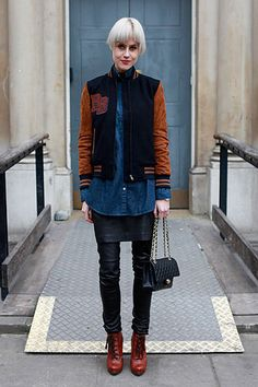 Cool Layered Looks / Photo by Anthea Simms