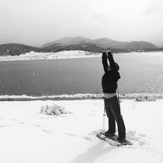 Have you every seen a workout spot quite like this? Snow workouts with the journey gym. No excuses!
