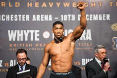 Tune into Our Live Interview with Heavyweight Boxing Sensation Anthony Joshua