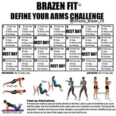 Brazen fit define your arms challenge 30 day arm challenge, arm workout challenge, workout Arm Workout Challenge, 30 Day Arm Challenge, Workout Plans, Arm Day Workout, November Challenge, Challenge Ideas, Health Challenge, Boxing Workout, Workout Ideas