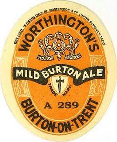 Labels Worthington's Special Mild Ale Worthington & Co. Burton-on-Trent Staffordshire England Burton On Trent, Beer Week, Most Popular Drinks, British Beer, Beer Mats, Badge Design, Old Ads, Wine And Beer, Best Beer