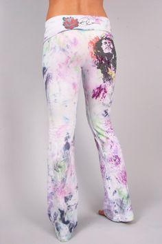 830 JamRok Custom Yoga Pants by COUTURETEEdotCOM on Etsy