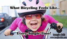 I love to cycle!