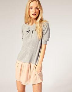 Pink+grey = perfect!
