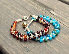 I really like this bead bracelet  This blog is full of craftiness