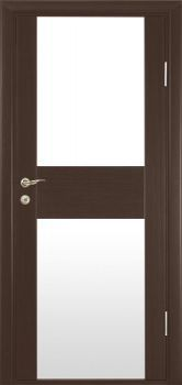 Milano Doors, Series: Milano-271 shown in Wenge, Available in 1 Finish
