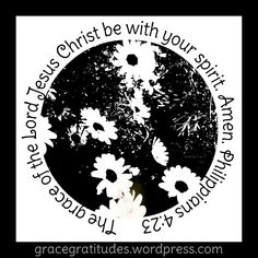 Blog Post 》Grace is with You: gracegratitudes.wordpress.com/2016/07/03/grace-is-with-you/