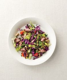 Chopped Steak Salad recipe from realsimple.com #myplate #protein #vegetables