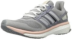 adidas Performance Womens Energy Boost 3 W Running Shoe Mid Grey S14Dark NavyVapor Pink F16 9 M US -- You can find out more details at the link of the image.