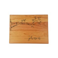 Custom Engraved Wooden Cutting Board - Mini Wim Engraved Cutting Board, Personalized Cutting Board, Custom Engraving, Laser Engraving, Special Images, Gifts For Cooks, Wedding Gifts For Couples, Love Design, Types Of Wood
