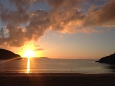 Maenporth Beach Sunrise