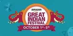 Amazon Great Indian Sale - 5th Oct #LightningDeals Lightning Deals Amazon India.