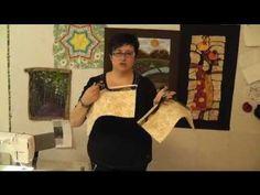 el patchwork de concha berdala: Video Tutorial Valisette Acolchada