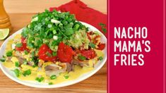 comfort foods and healthy foods aren't mutually exclusive. Meet Nacho Mama's Fries, your new go-to plant-based comfort food Whole Food Diet, Whole Food Recipes, Vegan Recipes, Plant Based Whole Foods, Nacho Mama's, Nachos, Health And Wellness, Fries, Side Dishes