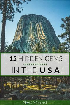 Best Hidden Vacation Spots in the US - Don't get me wrong, I love visiting popular vacation spots like Yellowstone and LA, but I feel mo - Us Travel Destinations, Places To Travel, Wedding Destination, Destination Voyage, Best Vacation Spots, Best Vacations, Beautiful Vacation Spots, Romantic Vacations, Vacation Places