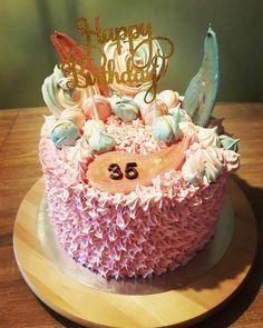 Geburtstagstorte zum 35 für eine Cousine