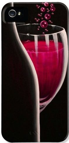 R.S.V.P. Requested  wine art phone case for iPhone & Galaxy phones, $34.  Details:  http://pixels.com/products/rsvp-requested-sandi-whetzel-iphone5-case-cover.html  #wine #romantic #sensual