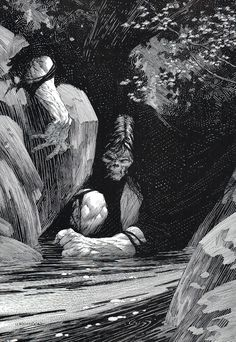 Frankenstein - Bernie Wrightson