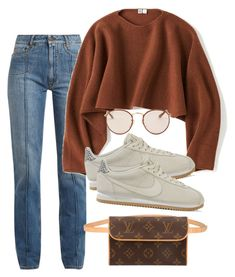 A fashion look from november 2017 by featuring uniqlo, maison mar Teen Fashion Outfits, Mode Outfits, Retro Outfits, Cute Casual Outfits, Stylish Outfits, Fall Outfits, Vintage Outfits, Fashion Fashion, Runway Fashion