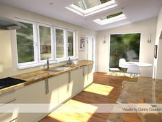 Modern Kitchen Design Sketchup Design Cad