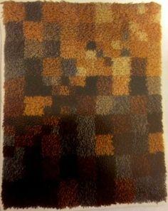 Rya Rug, Wool Rug, Wall Hangings, Fiber, Weaving, Rugs, Pattern, Painting, Design