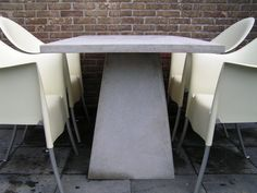 concrete tabel III