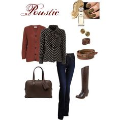 Rustic, created by jennifer-zuccaro.polyvore.com