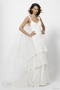 Watters Bridal Spring 2012 Collection | Wedding Inspirasi