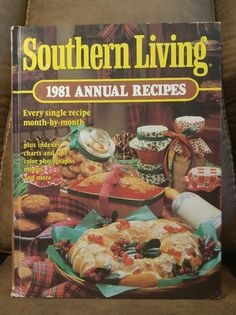 $16.95 OBO! Southern Living CookBook 1981 Annual Recipes Oxmoor HC Vintage Collectible