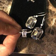 Swarovski Sapphire Earrings - Blue Crystal Drop Earrings - Antique Brass Art Deco Earrings - Sapphire and Crystal Earrings - Jewelry Gifts Emerald Green Earrings, Sapphire Earrings, Gold Drop Earrings, Teardrop Earrings, Swarovski Crystal Earrings, Rhinestone Earrings, Etsy Earrings, Crystal Rhinestone, Bridesmaid Earrings