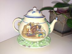 Enesco Mice Teapot Bungalow by LosChapines on Etsy
