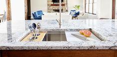 Ledge Sink - Single Bowl - Offset Drain Right - Create Good Sinks Apron Front Kitchen Sink, Kitchen Sink Design, Kitchen Sinks, Old Bathrooms, Single Bowl Sink, Interior Decorating Tips, Glass Sink, Sink Accessories, Modern Shower