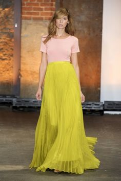 chartreuse. it's is all i can think about lately. in fashion and in art.