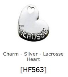 Lacrosse charm by Our Hearts Desire for floating  lockets $5   purchase this at www.ourheartsdesire.com/billiejoclaypool