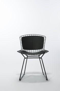 Via Control Brand | Bertoia Wire Chair | Black and White