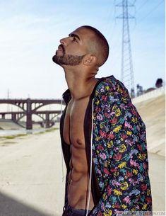 Male Fashion Trends: Pierre Abena por Fabien Martorell para BELLO Magazine