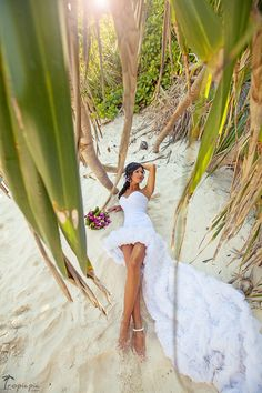 Elegant bride and brilliant wedding dress #coast #thailand #weddingdress Click the picture to see the whole photoshoot!