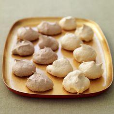 Chocolate and Vanilla Meringue Cookies Recipe | Weight Watchers