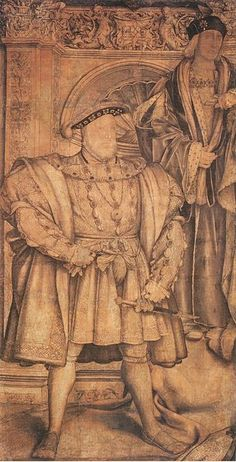 The Great Henry VIII by Hans Holbein