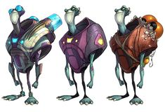 Tharpods - Pictures & Characters Art - Ratchet & Clank: All 4 One