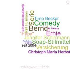Welche TV-Serie suchen wir? Lösung: http://schlagwort-quiz.de/raetsel/145
