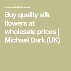 Wholesale silk flowers buy artificial gerbera daisies silk buy quality silk flowers at wholesale prices michael dark uk mightylinksfo
