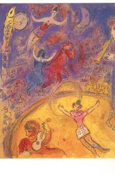 Circus. Meer kaarten van Chagall bij www.postersquare.com