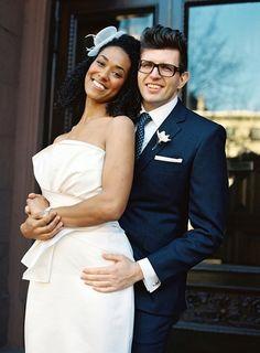 blk-dahlia:    Interracial marriage, love it!
