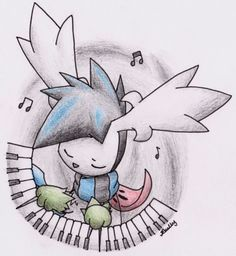 Music Notes by Yakalentos.deviantart.com on @deviantART