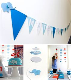 more elephant party ideas./ nursery possibilities too