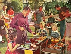 Barbecue!!  This picture is in my cookbook!
