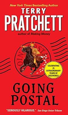 Going Postal (Discworld) by Terry Pratchett https://www.amazon.com/dp/0060502932/ref=cm_sw_r_pi_dp_x_SODoyb88M1G1M
