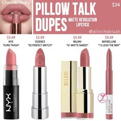 Drugstore Lipstick Dupes, Mauve Lipstick, Maybelline Lipstick, Lipstick Shades, Lipsticks, Best Brown Lipstick, Mac Eyeshadow Dupes, Cheap Lipstick, Revlon Makeup